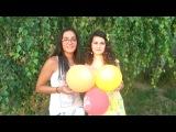 Поздравления Стаса) Лида и Сабина (как мы снимали) сбились с счета..))) :D