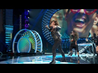 Demi Lovato feat. Cher Lloyd - Really Don't Care (Live Teen Choice Awards 2014)
