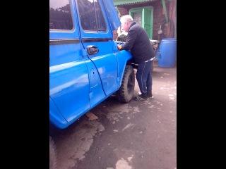 Первый запуск УАЗа после кап-ремонта двиг:)