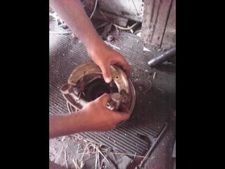 замена тормозных колодок иж