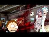 Момент из мультсериала Рик и Морти