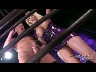 FemdomEmpire.com Kagney Linn Karter - Caged And Cuckolded (2014) HD