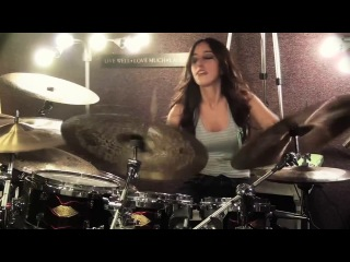 Bullet For My Valentine - Waking The Demon (Drum Cover by Meytal Cohen)