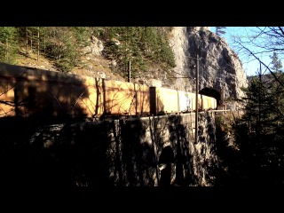 Die Semmeringbahn und ihre Tunnel Teil 35 Streckenabschnitt zwischen Klamm und Breitenstein