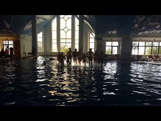 прыжки в бассейн-1 4 сезон