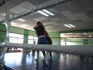 Саньда: Красный угол-Бригида Сергей,Синий угол-Андрей Викторов
