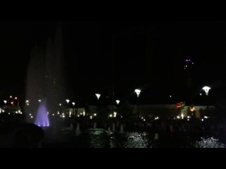 Свето музыкальный фонтан в Одессе в Аркадии Это стоит увидеть каждому