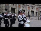 Change of guard in the Royal Palace Stockholm_20140701