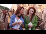 Roma Downey, Rachel Brosnahan, and Cote de Pablo in the first costume shots, on the first day of filming The Dovekeepers