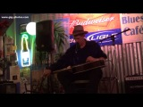 Watermelon Slim at Bluesberry Cafe, Clarksdale, Mississippy, 11 May, 2013, Live.