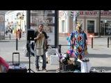 Индейцы на Бауманке (г. Казань, июль 2014)