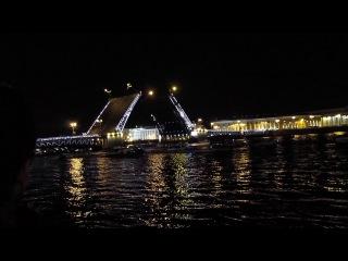 Разводные мосты 12.08.14. Дворцовая набережная