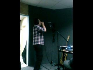 запись сингла the BONERSEX на студии Kvasura sound (вместе с Сашей дедом)