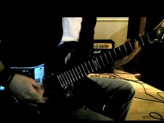 Children of Bodom - Roundtrip to hell and back (Guitar cover)