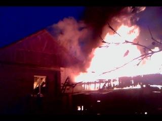 пожар в туртапке 18.11.2014 г.
