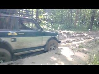 Нива_4#4 поездка по грязи!