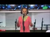 13 летняя девочка перепела певицу Iowa 'Улыбайся' cove