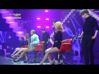 [PERF] 141212 Hyorin X Jooyoung - 지워(Erase) @ KBS2 Music Bank