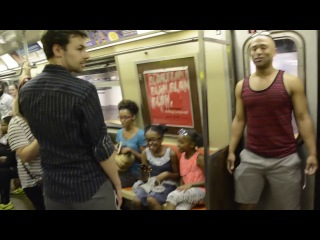 THE LION KING Broadway Cast Takes Over NYC Subway and Sings Circle Of Life