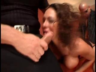 Ayla Italian Milf fucked by two Bad Boys