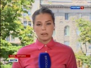Большие вечерние Вести (Vesti). Россия-1. 24.07.2014 - Последние новости об Украине и Новороссии