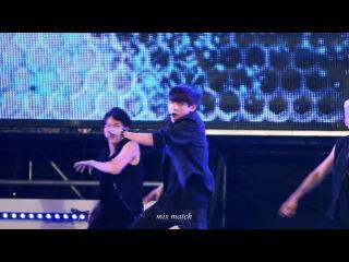 [FANCAM] 140823 BTS - Danger (V focus) @ SBS MTV Sharing Concert