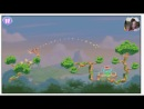 Самая Няшная Игра ♥ Angry Birds Stella - Детка Геймер 39 - Саша Спилберг