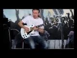 Видео урок по игре электрогитаре от Вячеслава Климашина.