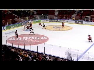 HockeyAllsvenskan 2014/2015. IF Malmö Redhawks - IF Björklöven (6:1) (обзор) (11.09.2014)
