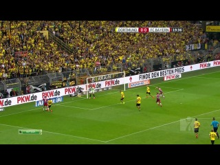 Боруссия Дортмунд - Бавария Мюнхен (1 тайм) НТВ+ Футбол