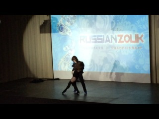 Zouk/1 место на Russian zouk congress/Елена Соколова и Павел Добровольский/преподаватели в Expression dance studio