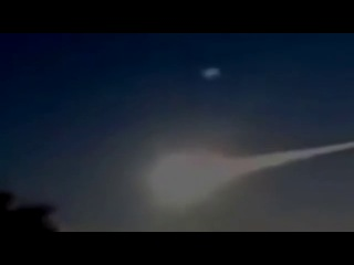 НЛО сбивает метеорит в Челябинске