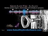 Grupo Latin Vibe - La LLave Salsa Rhythm &amp Timing Video (HD)
