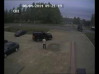 ДТП с участием скорой помощи на Титова