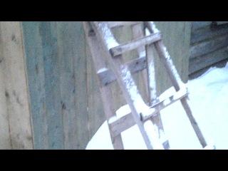 Зима пришла в с. Дебёсы и в Дебёсский район. Удмуртия. Ролик для Наталi Бiлiщак. Припять. Украина.