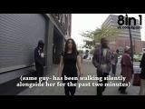 Социальный эксперимент - домогательства и комплименты девушке, которая 10 часов просто молча шла по Нью-Йорку / 10 Hours of Walking in NYC as a Woman