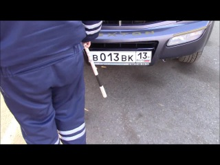 только перья полетели- в Мордовии московские гаишники устроили спецрейд