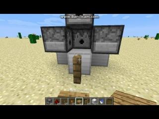 Minecraft 1 6 2 Механизмы ловушки и баги Часть 15 Компактная ТнТ пушка №2 бонус