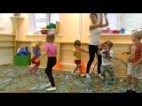танцевальная аэробика для детей 3-4 лет