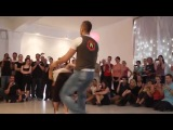 Mr. Dragon & Bruna Sousa, zouk revolution demo at Berlin Zouk Congress 2012