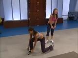 ▶ Jillian Michaels «6 Week Six-Pack» 2 level (краткий обзор) - YouTube [360p]