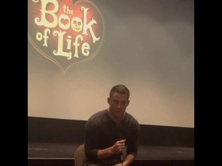 Q&A with the amazing Channing Tatum (Book of life) 10/11/201