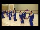 танец с цветами. восток