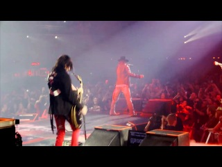 Guns N' Roses - Welcome To The Jungle - Appetite for Democracy Live at the Hard Rock Casino-Las Vegas [2012]