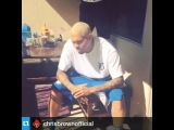 Chris Brown ALS Ice Bucket Challenge Крис Браун