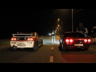 Sky33 t3t4 450 hp vs. BNR32 GT-R t70 480 hp