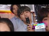 [BACKSTAGE][140718] B1A4 INFINITE Girl's Day @ Music Bank Backstage