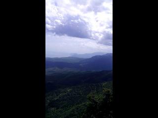 Вид с горы Караби-Яйла