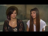 Деми и Кристина Перри говорят о совместном туре для телеканала «E!», 5 августа.