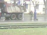 Так кладут асфальт у нас в Комсомольске на Амуре